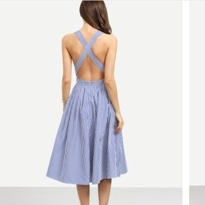 Dresses & Skirts - Backless Criss Cross Dress